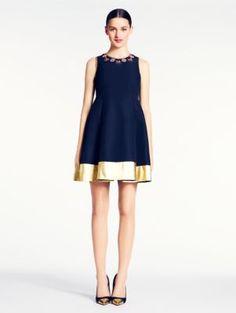 Gorgeous Kate Spade dress.