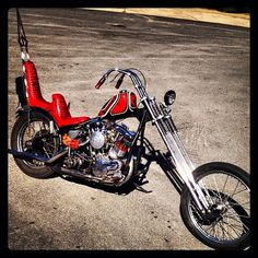 Righteous shovel I painted for I love you gen-nay - Vintage Motorcycles, Custom Motorcycles, Custom Bikes, Harley Davidson Chopper, Harley Davidson Motorcycles, Custom Choppers, Custom Harleys, Old School Chopper, Harley Bikes