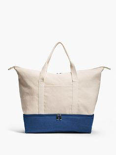 Lightweight Canvas Women's Weekender Bag | The Catalina: Lo & Sons - Lo & Sons