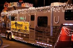 Decorate your RV for Christmas! Check out hartranchresort.com for the latest in RV camping fun!