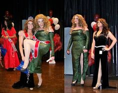 Womanless Beauty Pageant, Crossdressers, Glee Cheerios, Karen Spencer, Pageants, A3, How To Wear, Girls, Dresses