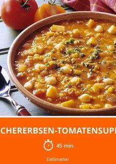 Kichererbsen-Tomatensuppe – die ist wirklich einfach gemacht!