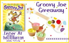 Groovy Joe: Ice Cream and Dinosaurs  #Giveaway! Ends 9/15/16 #kidslit #books…