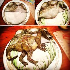 Spinosaurus Cake