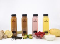 #PureNectarJuice A new line of Cold Pressed Juice with tea, wow!