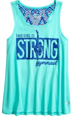 This Girl is Strong Gymnast Shirt