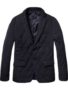 Quilted Nylon Blazer | Blazers | Men Clothing at Scotch & Soda
