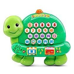 Mom's Best 10 Educational Toys for Toddlers of 2017 – Mom's Best 10 This interactive toy is a great way to introduce your child to electronic learning toys.  This toy surpasses any competitor, teaching numbers up to twenty, colors, shapes and instruments in English AND Spanish. Start teaching your child a second language early with this V-tech multilingual toy. The recommended age is two and up, however younger children will certainly enjoy this toy! Your child will love the light up numbers