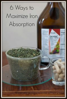 Low iron is a common problem for women and children. Here are 6 ways to maximize iron absorption.
