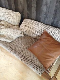 Zilalila cushions and Atelier Sukha day bed - April and May: the amazing vtwonen barn