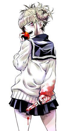 Himiko Toga - Boku no Hero Academia My Hero Academia, Boku No Academia, Manga Anime, Anime Art, Anime Amino, Himiko Toga, Best Superhero, Fanart, Hero Girl