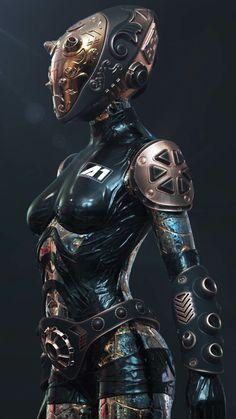 Cyberpunk Cyberpunk a blue color wallpaper - Blue Things Mode Cyberpunk, Cyberpunk Girl, Cyberpunk Kunst, Cyberpunk Tattoo, Cyberpunk Fashion, Cyberpunk 2077, Robot Concept Art, Armor Concept, Character Inspiration