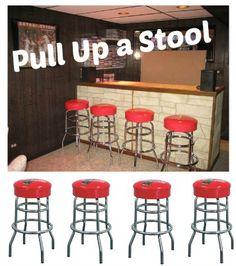 pull up a coca-cola bar stool!