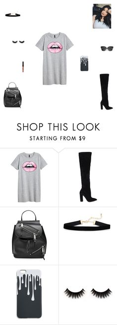 """""""kylie jenner lips"""" by synclairel ❤ liked on Polyvore featuring H&M, ALDO, Marc Jacobs, Spring, cute, casual and ootd"""