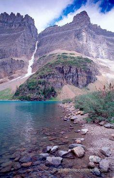 Iceberg Lake, Glacier National Park, Montana, USA. Stock Photo
