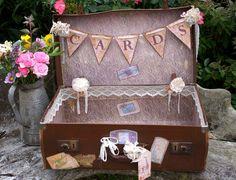 Wedding Keepsake Suitcase