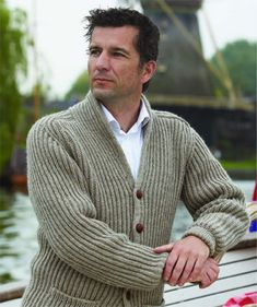 Ravelry: The Book Exchange Cardigan pattern by Nancy Marchant - love the construction of this cardigan, esp the collar