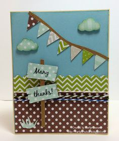 ~ Marilyns Cricut Cards ~: Many Thanks