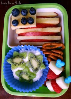 Fun 4th of July food for the kiddos!
