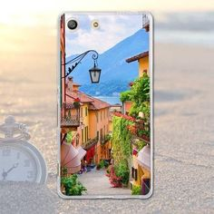 Fundas Phone Bags Case Cover for Sony Xperia M5 E5603 E5606 E5653 Soft TPU Animal Owl Dog Scenery Printed Case for Xperia M5