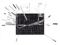 thepapercity: Rail Networks - James Corner.