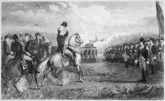 File:Washington taking command of the American Army at Cambridge, 1775 - NARA - 532874.tif