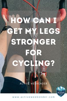 Want to improve your cycling performance? Learn how to strengthen your legs with these Zwift Cycling, Cycling Tips, Cycling Workout, Bicycle Workout, Bicycle Exercise, Cycling Tattoo, Bike Workouts, Swimming Workouts, Swimming Tips