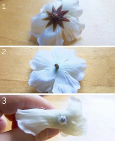 Flower crown DIY tutorial: make your own beautiful flower crowns, with tutorial and tips by an Etsy pro! Flower Crown Tutorial, Diy Flower Crown, Diy Crown, Floral Crowns, Floral Headbands, Hair Flowers, Fabric Flowers, Gota Patti Jewellery, Head Wreaths