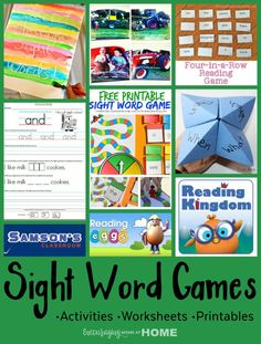 sight-word-games-worksheets