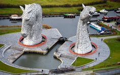 The Helix home of The Kelpies in Scotland
