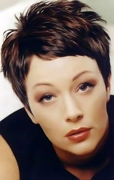 Enjoyable For Women Thick Hair And Pixie Haircuts On Pinterest Hairstyle Inspiration Daily Dogsangcom