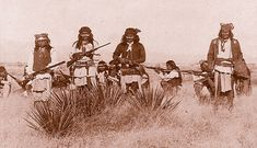 Geronimo (Goyahkla) - Bedonkohe Apache: Geronimo's resistance to the intrusion of the white man began in the 1850s and lasted until 1886. He practiced what we would call guerrilla warfare on both sides of the American/Mexican border.