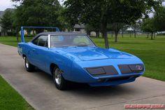 1970 Petty Blue Plymouth SUPERBIRD with 440 Six Barrel, 4-speed: Dodge Daytona, Dodge Charger Daytona, Plymouth Superbird, 70s Cars, Sweet Cars, Road Runner, Mopar, Hot Rods, Barrel