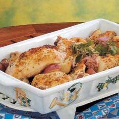 Chicken Potato Bake Recipe