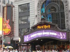 Hard Rock Cafe New York. Have never been here but want to go so bad! Heard its a blast!
