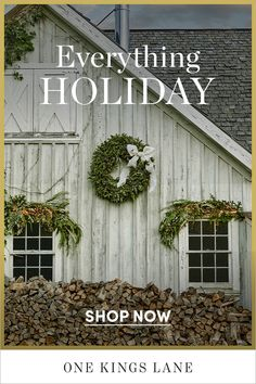 Everything you need to make this the most wonderful time of the year. 🎄 French Christmas, Merry Little Christmas, Christmas Home, Christmas Holidays, Christmas Decorations, Bohemian Christmas, Holiday Decor, Christmas Garden, Best Barns