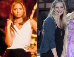"""Buffy the Vampire Slayer"" TV Cast -- Then & Now 