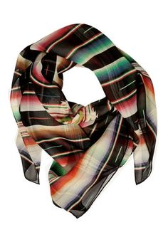 Get wrapped up in this Mexican-inspired serape scarf #ralphlaurencollection #coachella