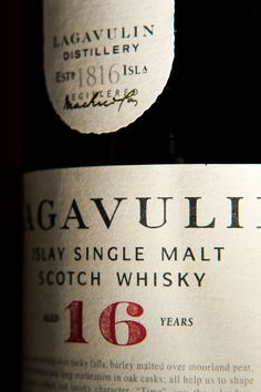 Lagavulin #singlemalt #whisky #islay #lagavulin Whisky Islay, Scotch Whisky, Bottle, Drinks, Food, Drinking, Beverages, Meal, Scotch Whiskey