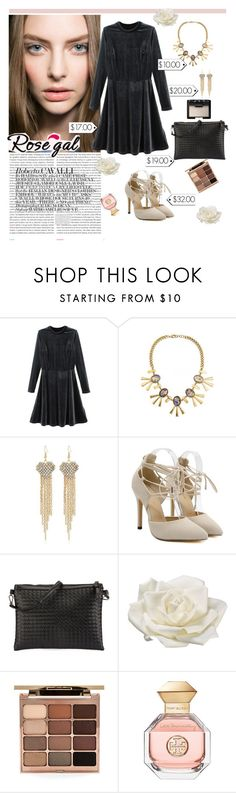 """""""Night out"""" by merimarahmanovic ❤ liked on Polyvore featuring Oris, Allstate Floral, Stila, Tory Burch, NARS Cosmetics and vintage"""