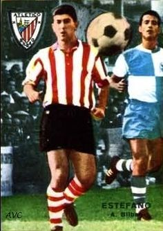 Nico Estafano of Athletic Bilbao in 1965.