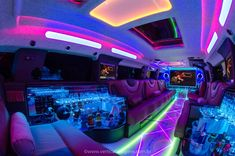 Hummer H2, Hummer Limo, Small Luxury Cars, Luxury Bus, Luxury Life, Limousine Interior, Limousine Car, Limo Party, Van