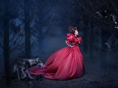 """I'm so excited to bring you NEW WORK! """"Whispers in the Woods"""" is the latest artwork from my series Photography / Postproduction / Costuming: Video Production: Hair / makeup: Model: Husky: Scout by alexiasinclair"""