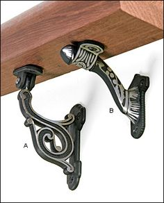 Best Ornate Victorian Cast Iron Handrail Bracket In 2019 400 x 300
