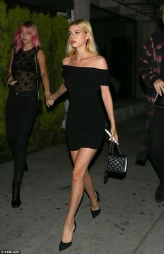 Nicola Peltz goes out to a swanky dinner in West Hollywood