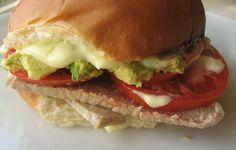 Lomito italiano hecho en casa / Homemade pork tenderloin, avocado, mayo and tomato sandwich | En mi cocina hoy