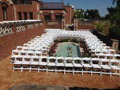 Garden Ceremony, reflecting pool