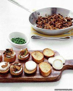 Mushroom Crostini Recipe