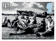 Pilots of 32 Squadron
