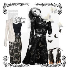 Lace by danewhite on Polyvore featuring polyvore, fashion, style, Roberto Cavalli, Plein Sud, Whiteley, Isabel Marant, Disney and clothing